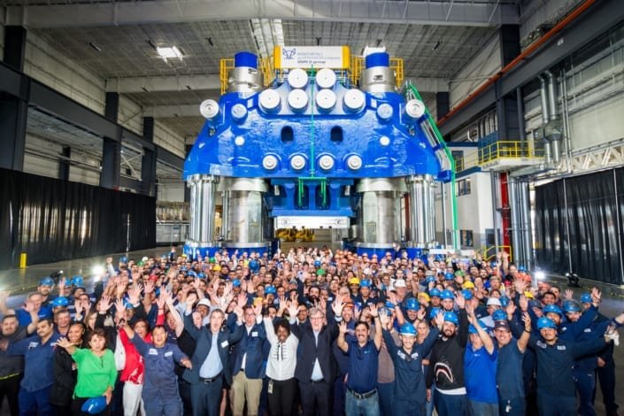 Weber Metals Grand Press Unveiling Group Picture