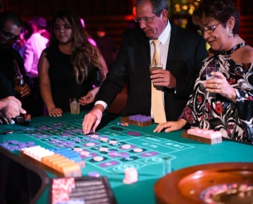 Craps Casino Games at Company Holiday Party