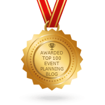 Awarded Top 100 Event Planning Blog Badge