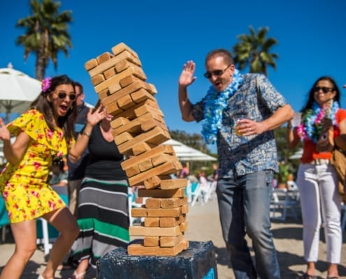 Fun Company Picnic Games for Outdoor Events Jenga Wow